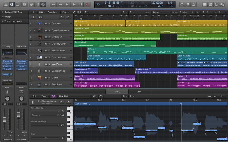 Du 21 au 25 oct . : Composer et produire avce Logic Pro X